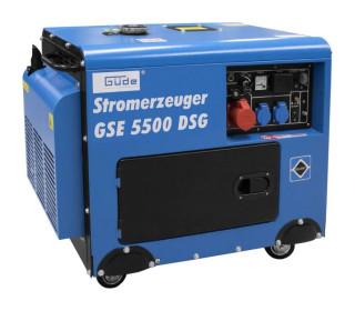 Diesel Aggregátor Önindítós GSE5500 DSG!1Év garancia!Ingyen szállítva!